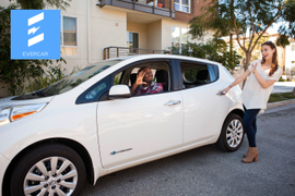 EV-Based Rental Service for Ride-Sharing Drivers Launched