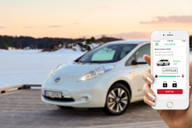 Rent Centric Powers All-Electric Carsharing Service
