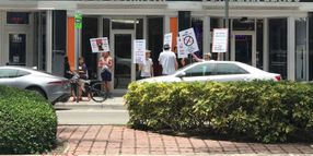 Former Sixt Franchisees Protest in South Florida
