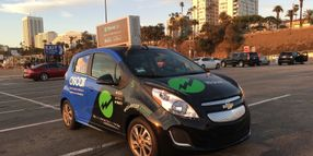 Carsharing Company Provides Free Rides in Ad-Sponsored Vehicles
