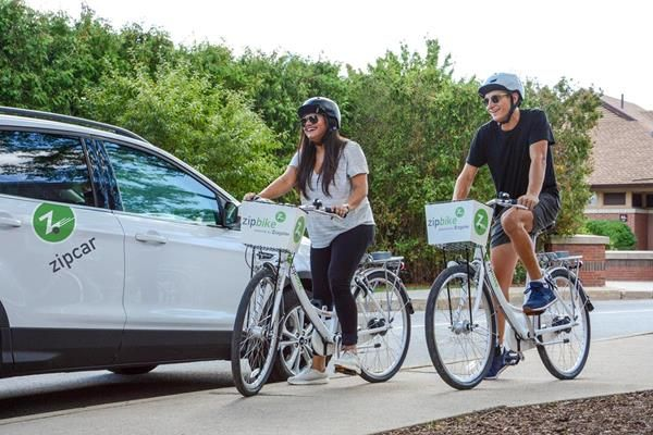 Zipcar to Launch Bike-Share Service at Universities