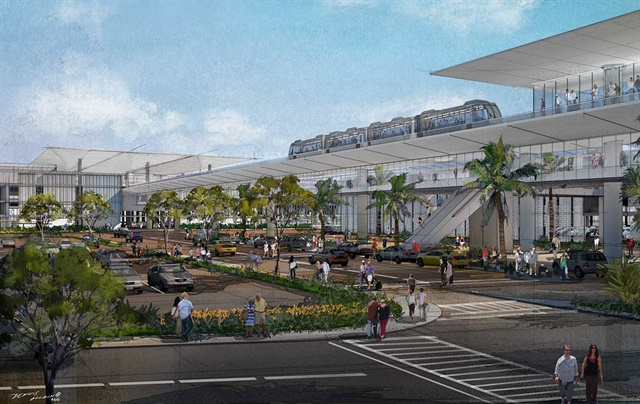 A rendering of the Conrac. Photo courtesy of Los Angeles World Airports.
