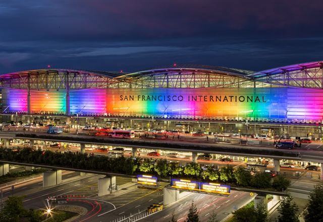 San Francisco International Airport sees about 53 million travelers every year. Photo via GPS/Flickr