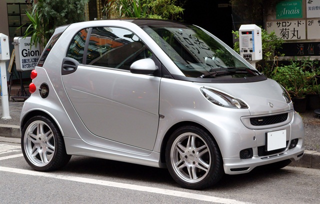 Carvenient Club has a carsharing fleet featuring the smart fortwo. Photo via Wikimedia.