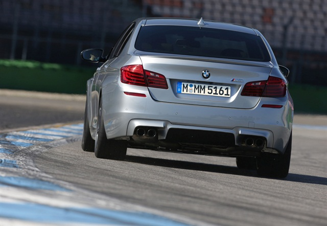 The BMW M5 is one of the new vehicles added to Hertz's Dream Cars Collection. Photo credit: BMW.