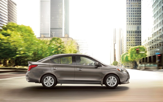 The 2014 Nissan Versa is one of Premier Cash Car Rentals new fleet vehicles. Photo courtesy of Nissan.