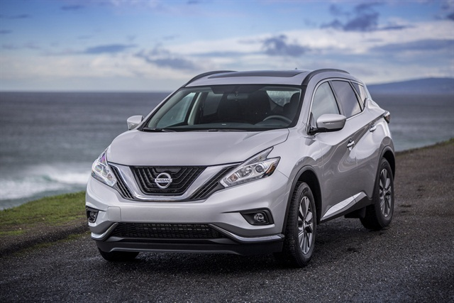 National Car Rental is offering the 2015 Nissan Murano at select Canadian locations. Photo courtesy of Nissan.