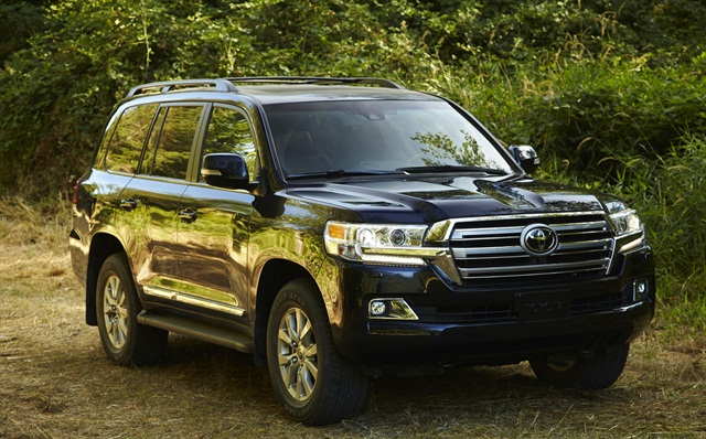The Toyota Land Cruiser is one of Avis' new vehicles in its 2016-MY fleet. Photo courtesy of Toyota.