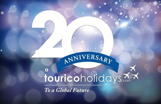 Tourico Holidays is celebrating its 20th anniversary.