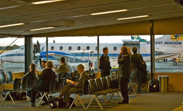 An inside view of the Christchurch Airport. Photo via Phillip Capper/Flickr.