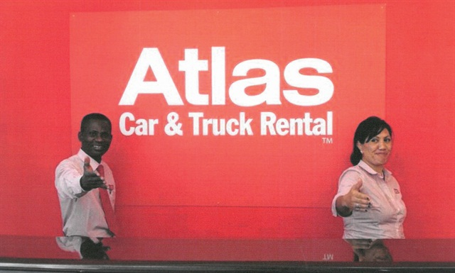 Photo courtesy of Atlas Car and Truck Rental.