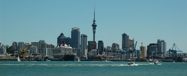 New Zealand-based JUCY Rentals was named best in class for car rental services in New Zealand. Photo of Auckland via Wikimedia.