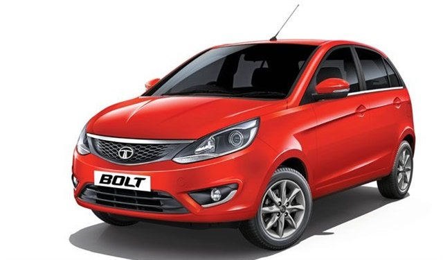 Tempest Car Hire has added Tata's Bolt hatchbacks to its rental fleet. Photo courtesy of Tata Motors.