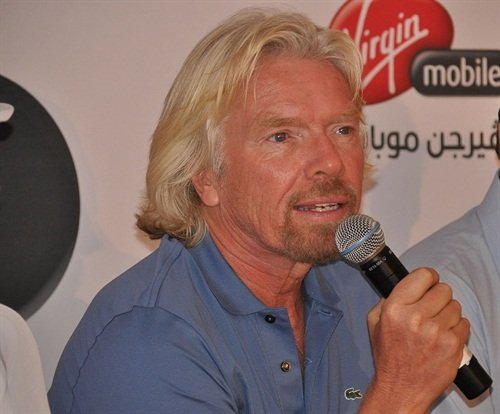 Richard Branson, founder of the Virgin Group, is now one of the investors for Sidecar. Photo via Wikimedia.