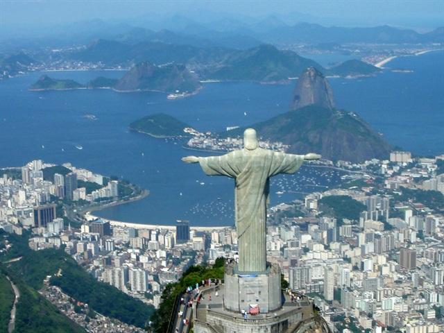 View of Brazil's Rio de Janeiro. Photo via Wikipedia.