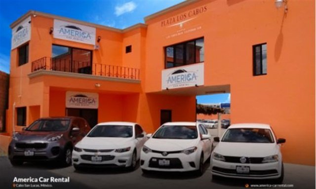 America Car Rental's newest location in Los Cabos. Photo courtesy of America Car Rental.