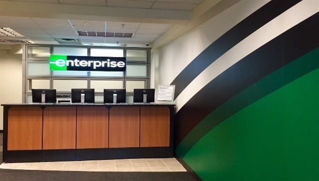 An Enterprise Rent-A-Car branch in Canada. Photo courtesy of Enterprise Holdings.