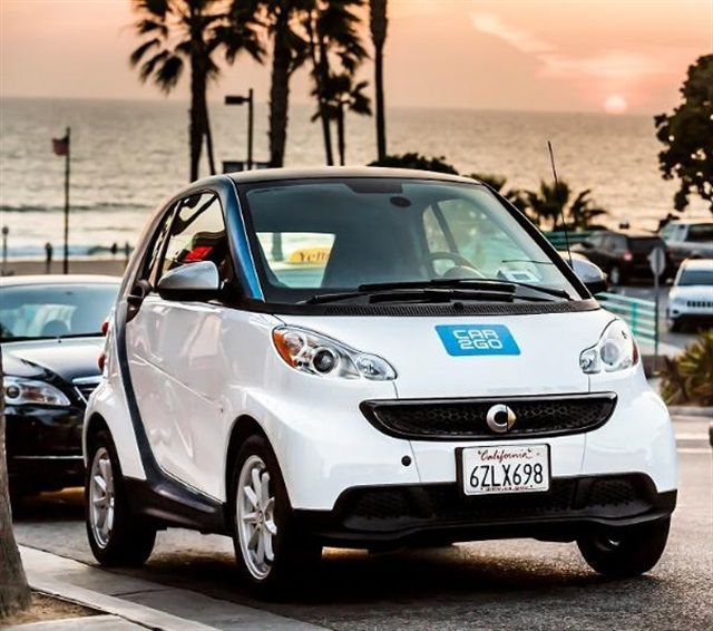 car2go will be launching in Los Angeles in June. Photo credit: car2go North America LLC.