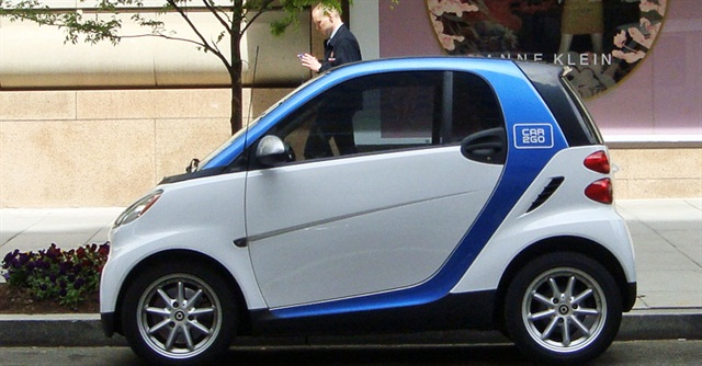 A Calgary City Council committee wants to limit the number of parking spaces for carsharing companies like car2go. Photo via Wikimedia.