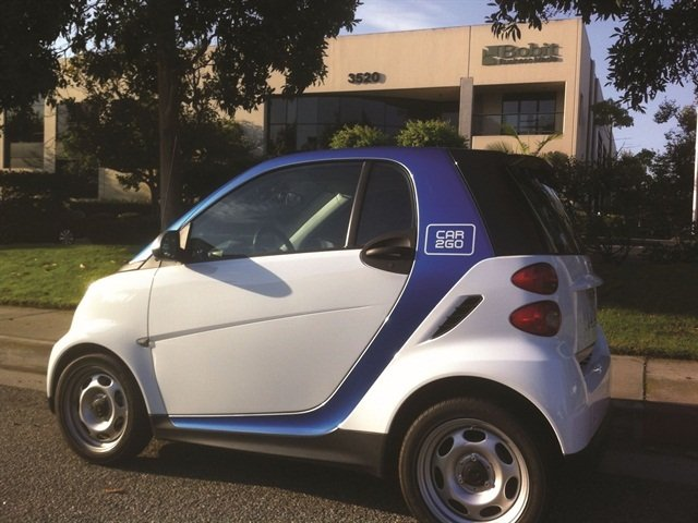 car2go is an example of a U.S. carsharing program. Photo by Chris Brown.