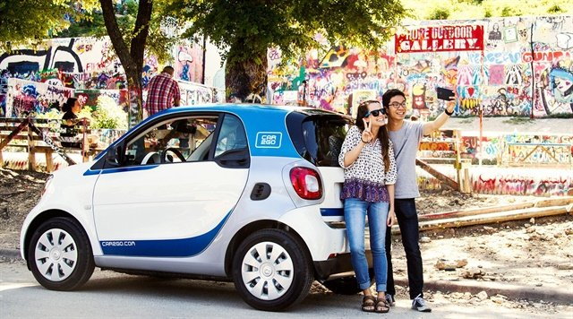 Photo courtesy of car2go.