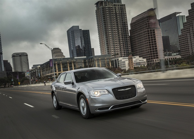 The Chrysler 300 is one of the affected vehicles in the recall. Photo courtesy of FCA US.