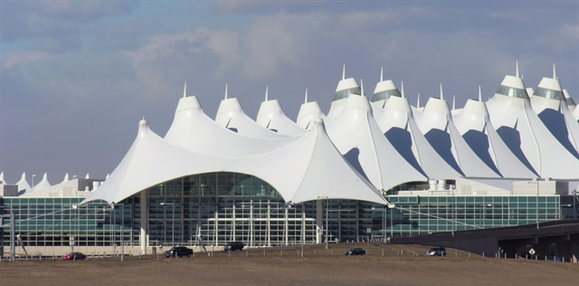 Denver International Airport. Photo via Wikimedia