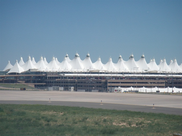 Denver International Airport. Photo via Wikimedia.