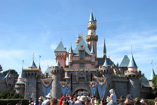 "A trip to Disneyland is one of the packages offered in Alamo's ""From Coast to Castle"" sweepstakes. Photo via Wikimedia."