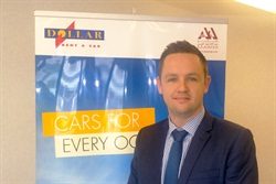 Dominic Hagerty has been named the head of sales and marketing at Dollar Rent A Car UAE. Photo courtesy of Dollar Rent A Car.
