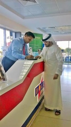 Dollar Rent A Car UAE has opened at Ras Al Khaimah International Airport. Photo courtesy of Dollar UAE.