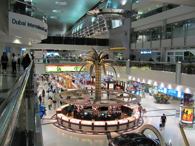 Dubai International Airport. Photo via gadha/Flickr.