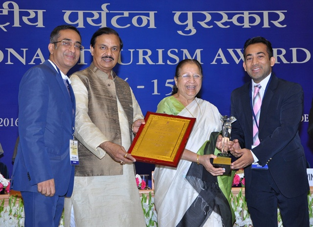 Eco Rent A Car received the National Tourism Award for Best Ground Transportation Company in India. Photo courtesy of Eco Rent A Car.