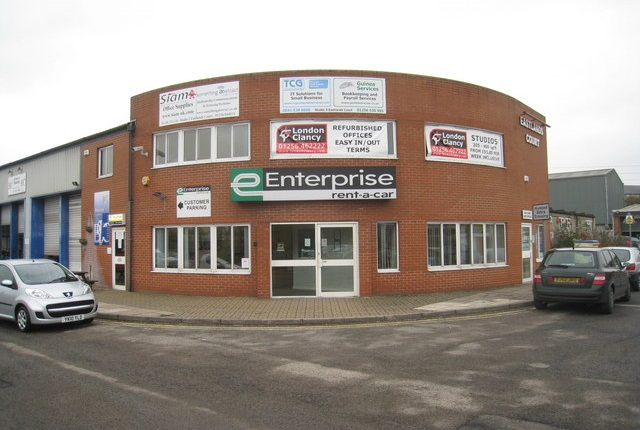 An Enterprise Rent-A-Car location in the U.K. Photo via www.geograph.org.uk.