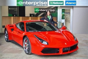 Enterprise Rent-A-Car has opened one of its Exotic Car Collection branches in Switzerland. Photo courtesy of Enterprise Holdings.