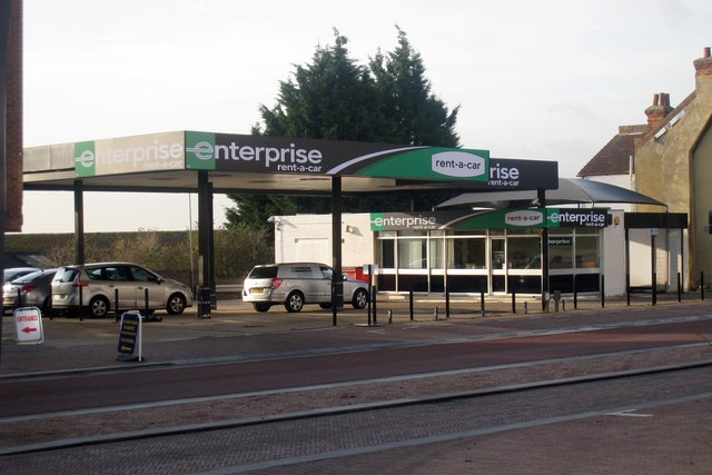An Enterprise Rent-A-Car location in the U.K. Photo via www.geograph.org.uk