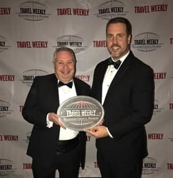 Enterprise Holdings was named Best Domestic Car Rental Company at Travel Weekly's 14th Annual Readers Choice Awards. Photo courtesy of Enterprise Holdings