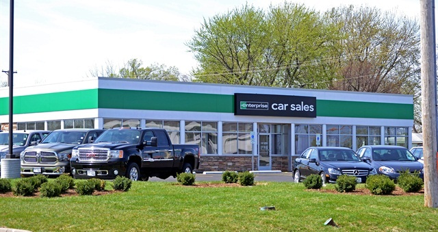 An Enterprise Car Sales location. Photo courtesy of Enterprise Holdings.