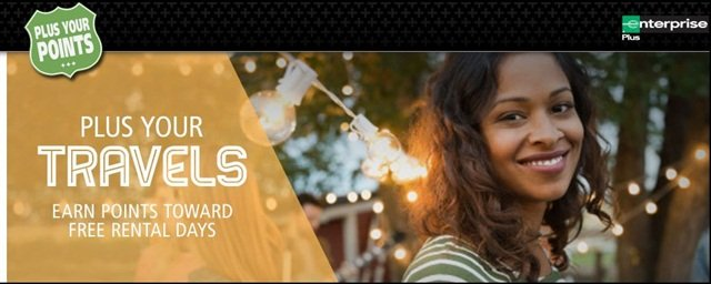 "Enterprise has launched its annual ""Plus Your Points"" promotion. Photo courtesy of Enterprise."