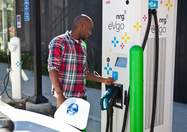 Evercar provides shared electric vehicles for ride-hailing drivers. Photo courtesy of Evercar.