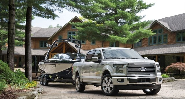 The 2016 Ford F-150 truck is one of Budget's new 2016 models. Photo courtesy of Ford.
