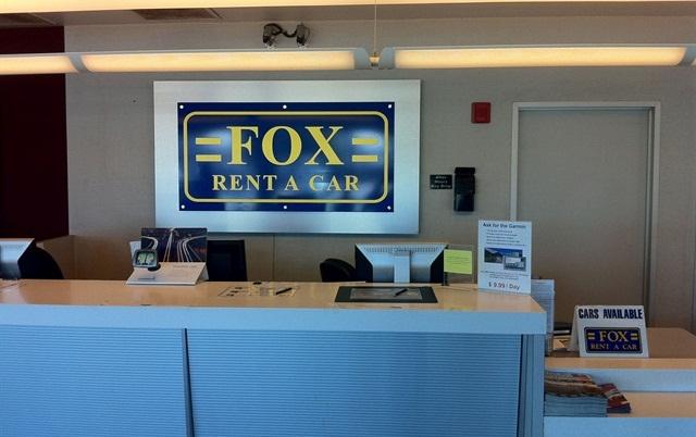 Photo via Fox Rent-A-Car.