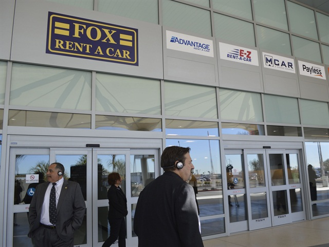 Fox's new location at San Diego Airport's Rental Car Center. Photo by Amy Winter-Hercher.