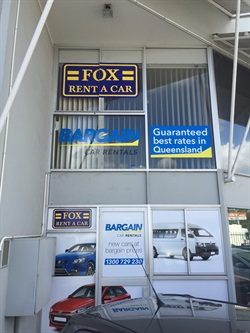 One of Fox's new locations in Australia. Photo courtesy of Fox Rent-A-Car.