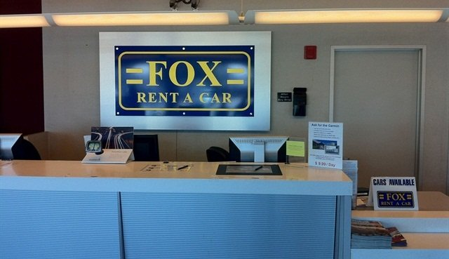 Photo courtesy of Fox Rent-A-Car.