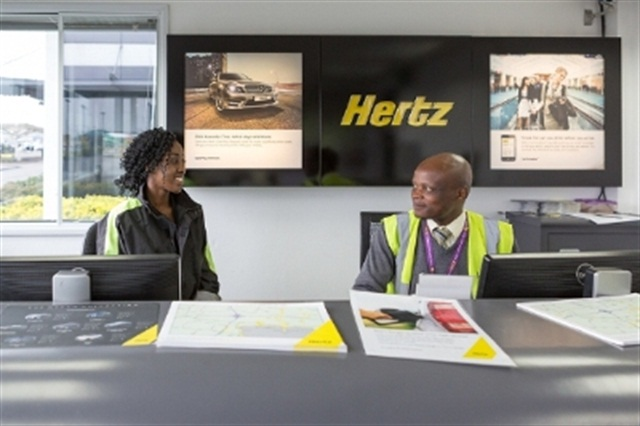 Photo courtesy of Hertz Corp.