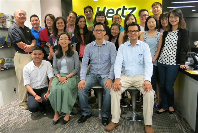 Discover the World and InterGlobe Air Transport Limited will be responsible for promoting the company's products and services internationally to domestic travel trade partners and travelers. Photo courtesy of Hertz