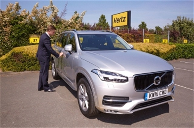 Hertz Uk Adds Volvo Xc90 To Rental Fleet Rental Operations Auto