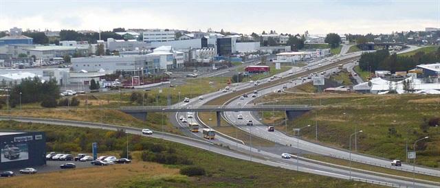 Reykjavik, Iceland. Photo courtesy of Wikimedia.