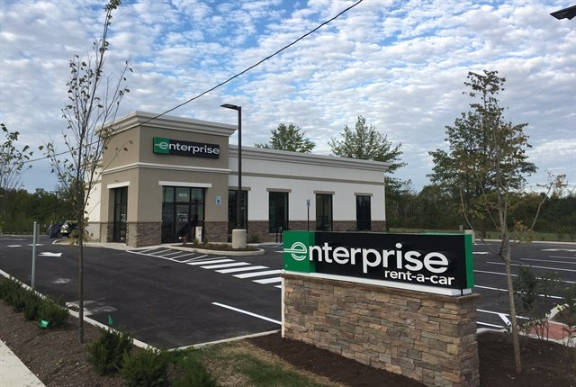 Enterprise Rent-A-Car's new location in Indianapolis. Photo courtesy of Enterprise Holdings.